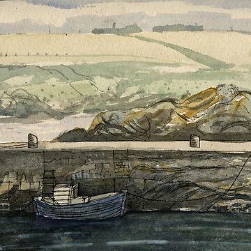 Sandend Harbour by progmike