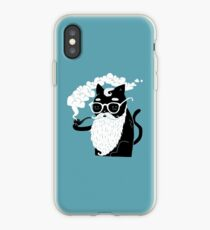 Whiskers And Pipe iPhone Case