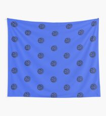 Spinning circle house DJ Vol. 2 - Happy people icon Wall Tapestry