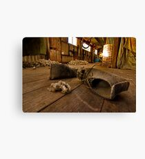 """""""Boots On The Boards"""" Canvas Print"""