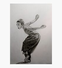 Shaolin Boy Assumes Kung Fu Stance Photographic Print