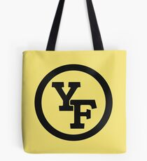 Yellow Fever logo Tote Bag