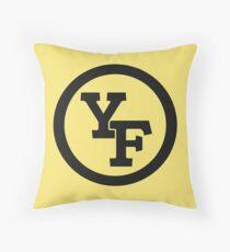 Yellow Fever logo Throw Pillow