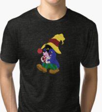 """Cuddles"" with Vivi from FF9 Tri-blend T-Shirt"