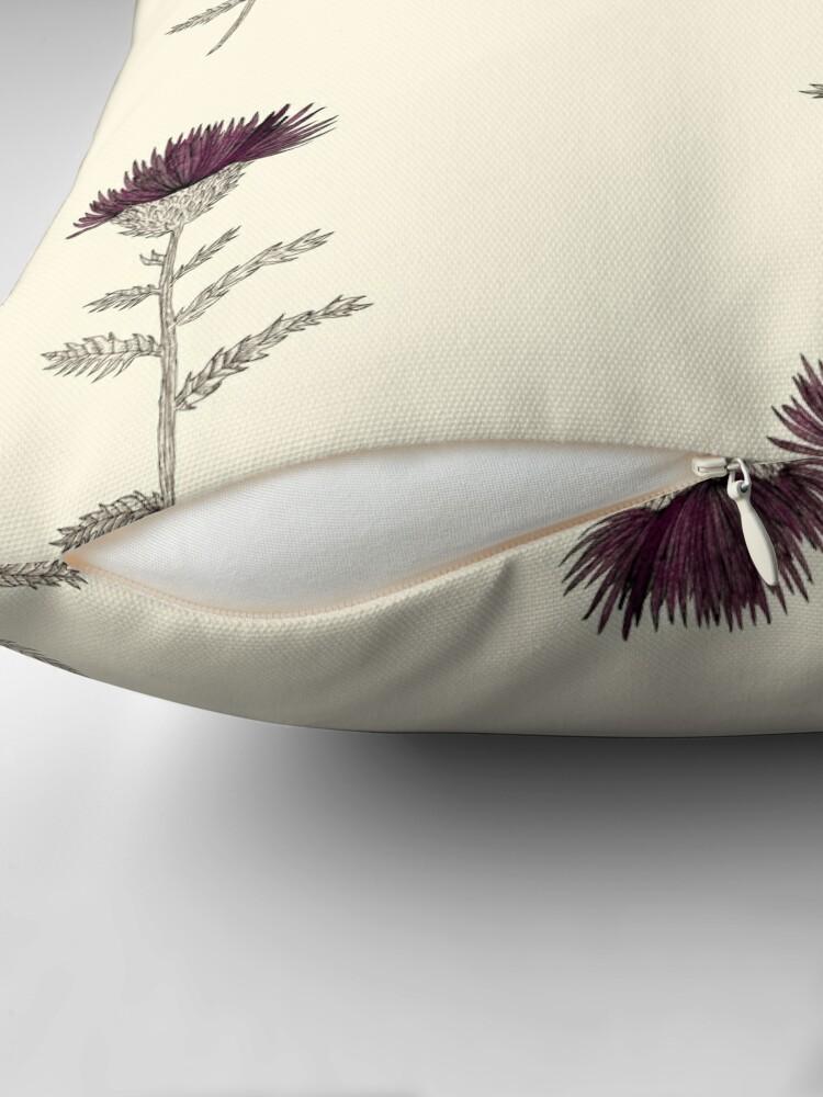 Alternate view of Cardoon Throw Pillow