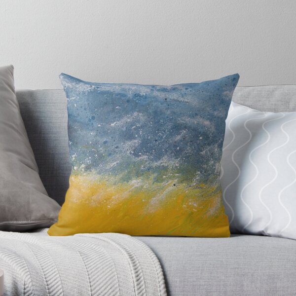 """Cleansing"" Throw Pillow"