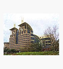 Mobile Government Plaza Photographic Print