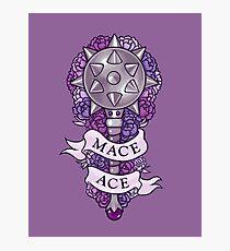 MACE ACE Photographic Print
