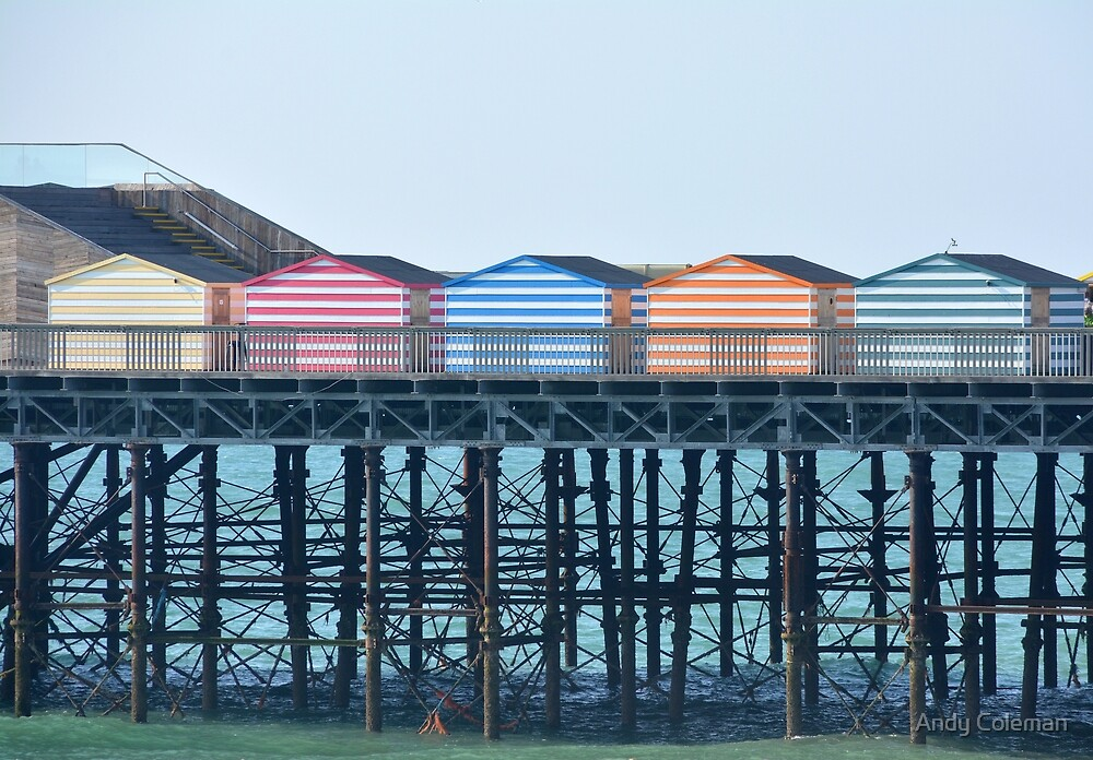 Hastings Huts by Andy Coleman
