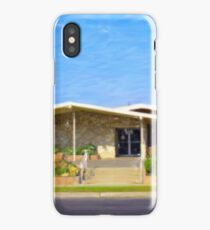Northridge Midcentury Building iPhone Case/Skin