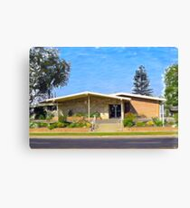 Northridge Midcentury Building Canvas Print