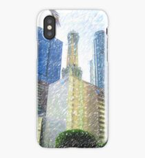 Downtown L.A. Towers iPhone Case/Skin