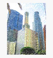 Downtown L.A. Towers Photographic Print