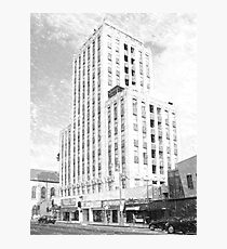 Wilshire Professional Building, Los Angeles Photographic Print