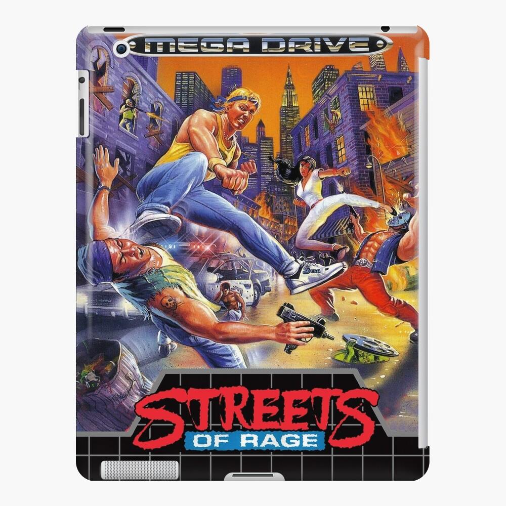 Streets of Rage Mega Drive/Genesis Cover iPad Case & Skin