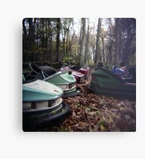Enchanted Cars Metal Print