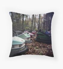 Enchanted Cars Throw Pillow