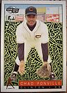 393 - Chad Fonville by Foob's Baseball Cards