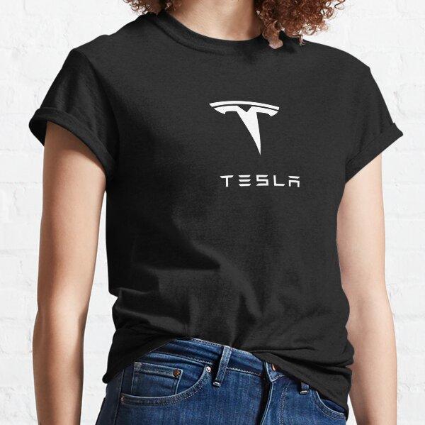 TESLA - White Classic T-Shirt