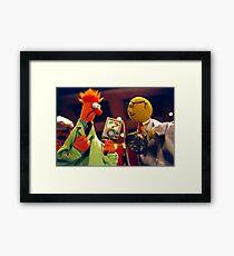 Bunsen and Beaker Framed Print