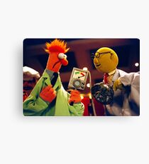 Bunsen and Beaker Canvas Print