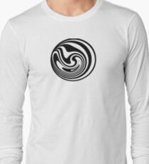 Spinning circle house DJ Vol. 2 - Happy people icon Long Sleeve T-Shirt