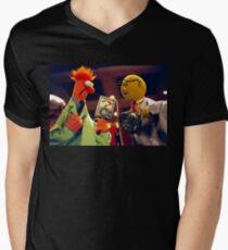 Bunsen and Beaker Men's V-Neck T-Shirt