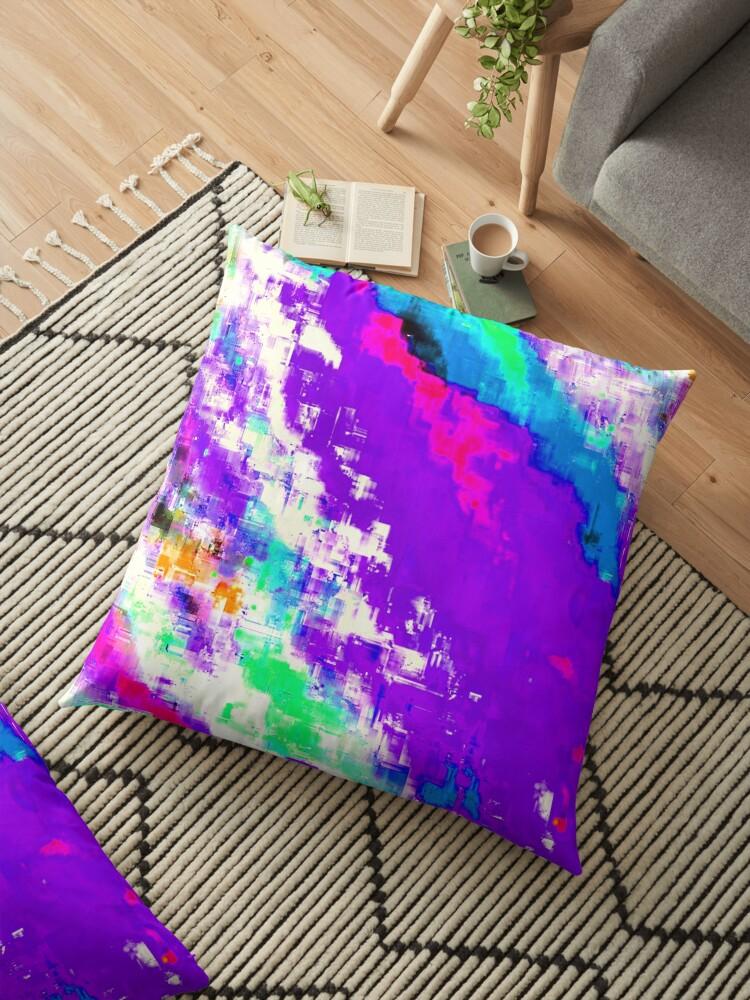 Glitchin' Purple by blakcirclegirl