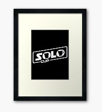 Solo Cups (Han/Solo Cup Mash-Up) Framed Print
