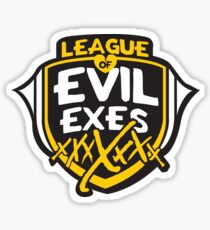 League of Evil Exes Sticker