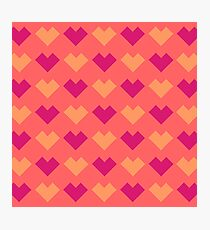 Minimal Heart Photographic Print