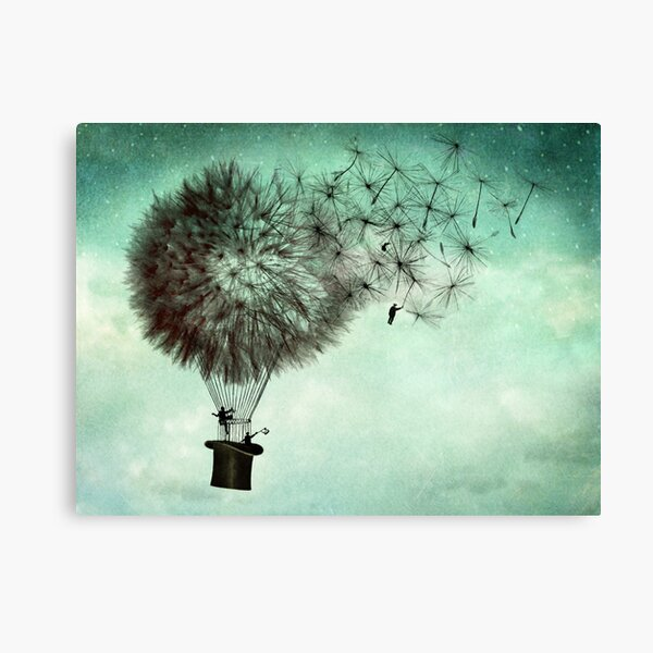 The business men's goodbye Canvas Print