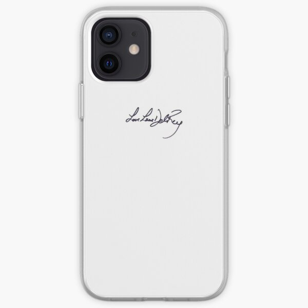 Signature de Lana Del Rey Coque souple iPhone