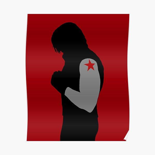 Minimalist Winter Soldier Poster