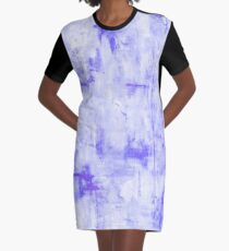 Lost in Lavender Graphic T-Shirt Dress