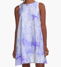 Lost in Lavender A-Line Dress