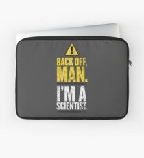 BACK OFF MAN. Laptop Sleeve