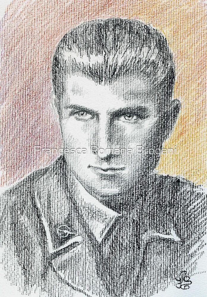 Franco Bolzoni portrait by Francesca Romana Brogani