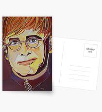 Croc Rock Man Portrait Postcards