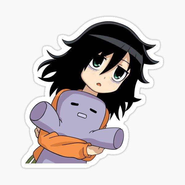 Tomoko 1 Sticker