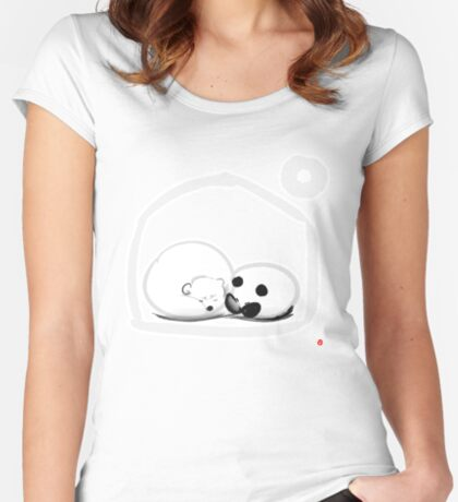 Moon And You Fitted Scoop T-Shirt