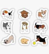 Puppies! Sticker