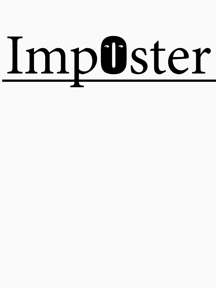 Imposter syndrome: If you live it- wear it by redpenblackpen