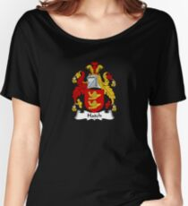Hatch Coat of Arms - Family Crest Shirt Women's Relaxed Fit T-Shirt