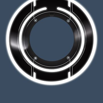 Tron Legacy Identity Disc by channandeller