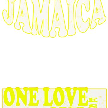 one love Jamaica  by peterparkertay