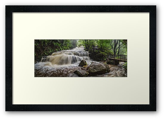 Leura Cascades by LHook Photography