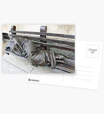 Homeless Jesus Postcards