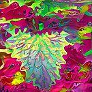 Psychedelische Pflanze von Justin Atkin