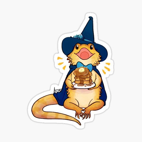 Sapphire - Bearded Dragon Sticker